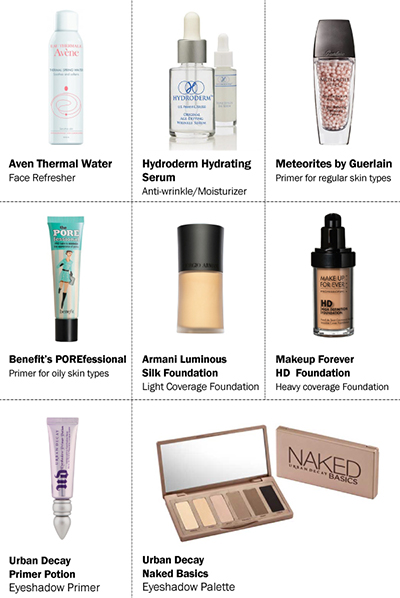 Some of the beauty products Stela mentions in Pin-up Beauty Secrets! (part 2)