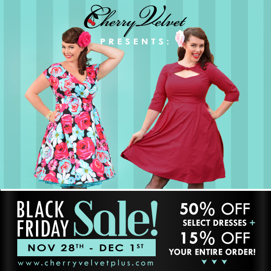 Cherry Velvet | The Black Friday Sale | Nov 28-Dec 1