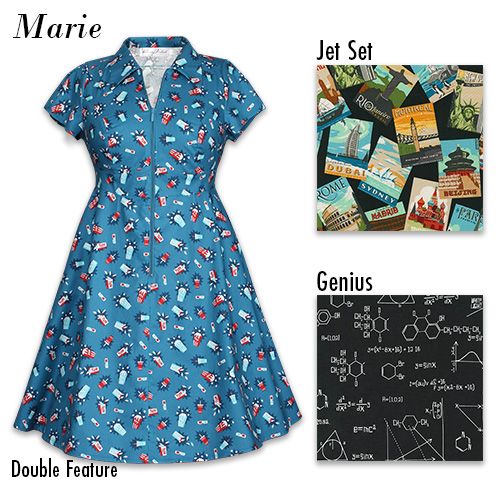 The Marie dress from Cherry Velvet in new prints