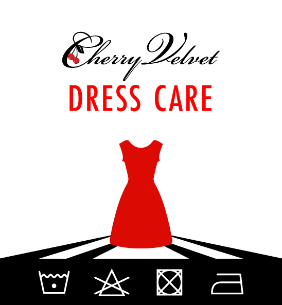 How to care for your Cherry Velvet dress