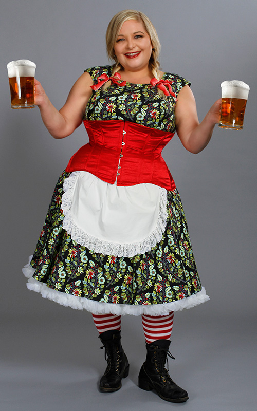 Halloween cosplay, Cherry Velvet style : Barmaid
