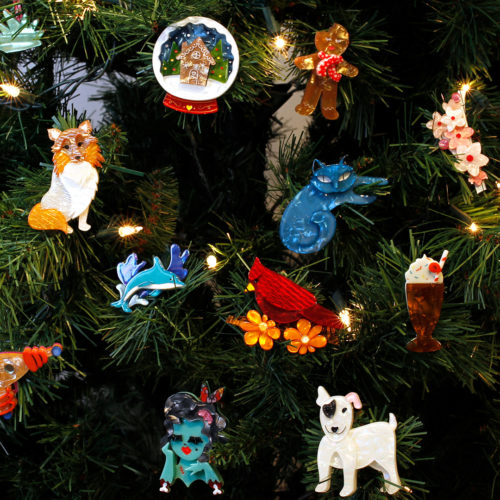 Erstwilder brooches make the best Christmas Stocking stuffers!