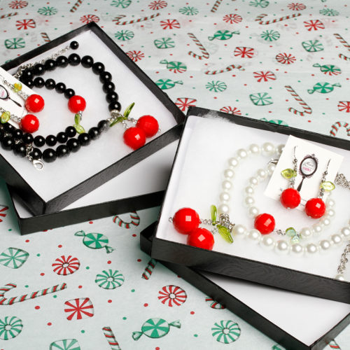 Christmas Stocking stuffers to make her Cherry Velvet dreams come true!